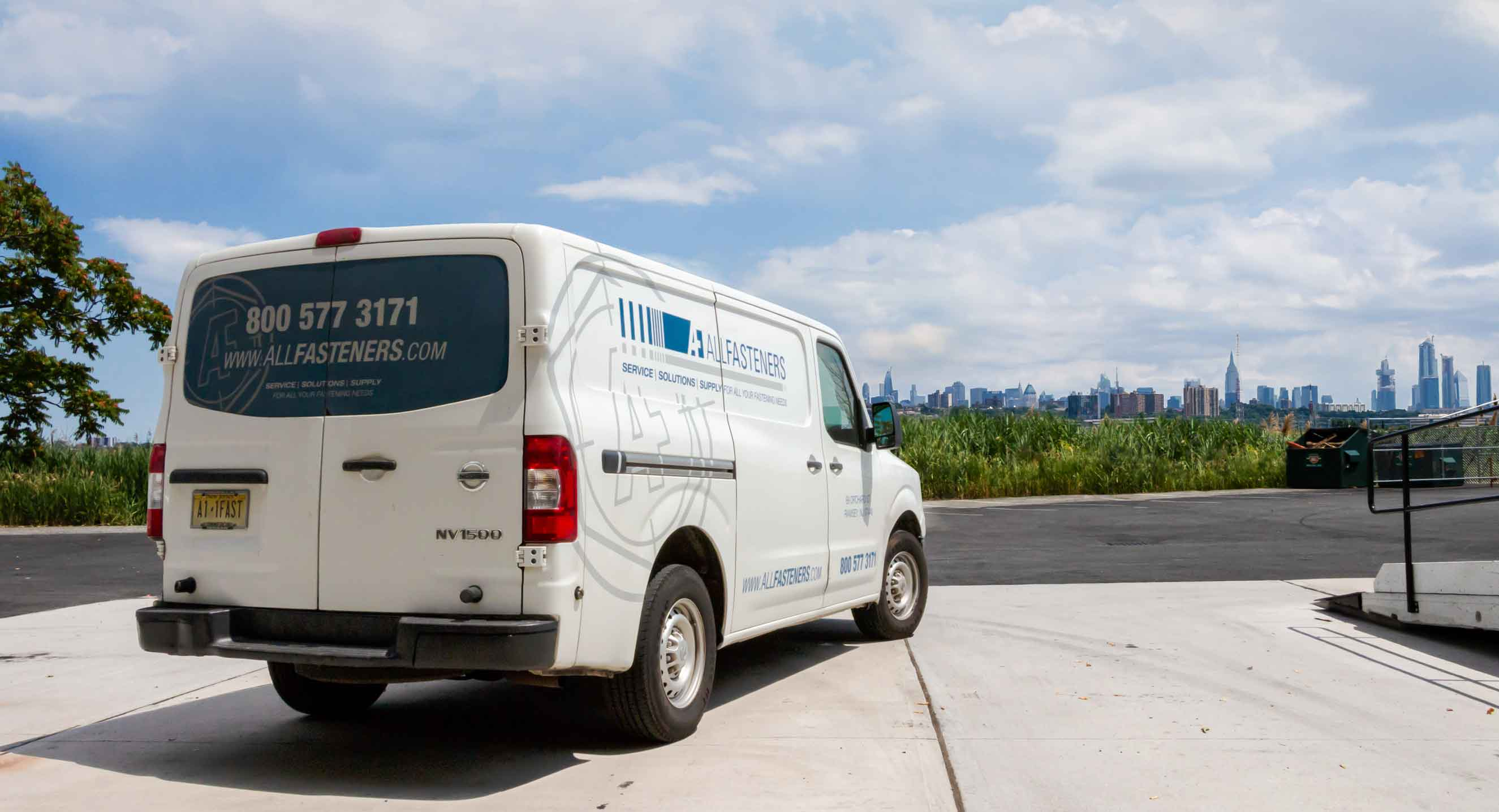 AF delivery van for speedy reliable shipping